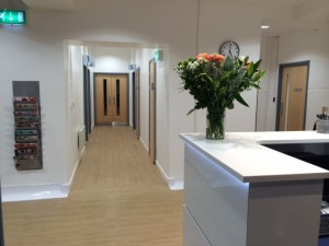 Belhaven surgery corridor